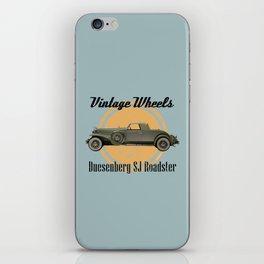 Vintage Wheels: Duesenberg SJ Roadster iPhone Skin