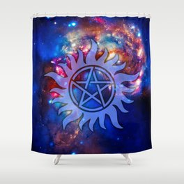 Supernatural Cosmos Shower Curtain