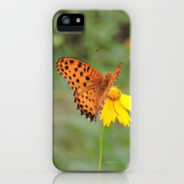 Ms. Indian Fritillary at West Lake iPhone Case