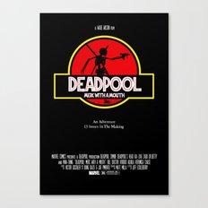 Deadpool : Merc with a Mouth Canvas Print