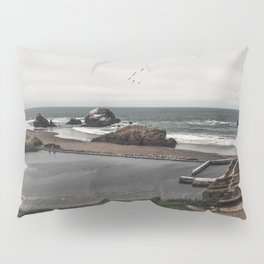Sutro Baths Ruins Pillow Sham
