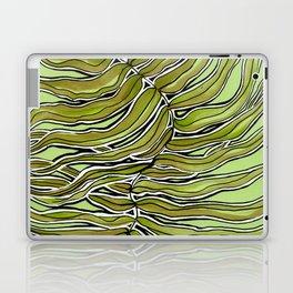 Green Leafy Zen Leaf Laptop & iPad Skin