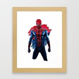 Amazing Spidey Framed Art Print