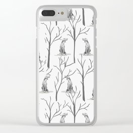 WINTER WEIMS Clear iPhone Case