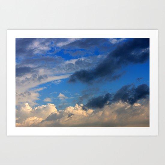 Magic in the Clouds Art Print