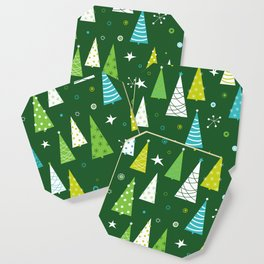 Christmas Forest Coaster