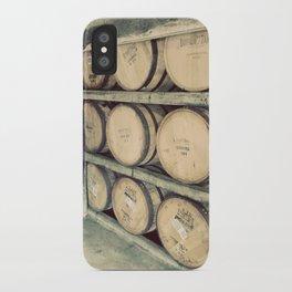 Kentucky Bourbon Barrels Color Photo iPhone Case