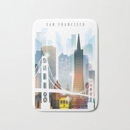 City of San Francisco painting Bath Mat