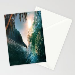 Photography - Beach - Waves - Palm Trees - Ocean  Stationery Cards