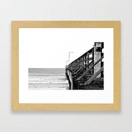 Cayucos Pier Framed Art Print