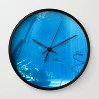 wreck it ralph Wall Clocks featuring Wreck by NelsonAU