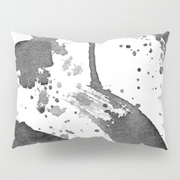 Minimal Brushstrokes Abstract Painting Pillow Sham