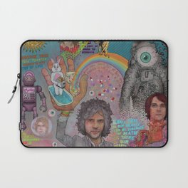 The Flaming Lips - Fear Of Slippery Brains, Electric Toasters & Evil Natured Robots From Outer Space Laptop Sleeve