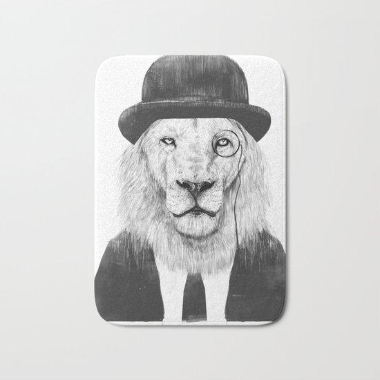 Sir lion Bath Mat