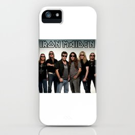 iron maiden tour 2017 ty2 iPhone Case
