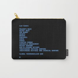 Thermonuclear war Carry-All Pouch