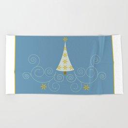 Holiday Greetings! Beach Towel