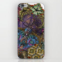 Psychedelic Botanical 8 iPhone Skin