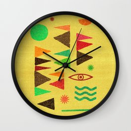 Tangential Paralysis (Part II). Wall Clock