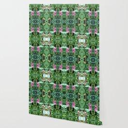 Wild Flower Pattern Wallpaper