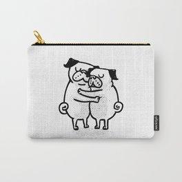Pug Hug Carry-All Pouch