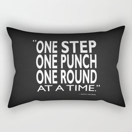 One Step One Punch One Round Rectangular Pillow