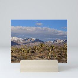 Winter in the Desert Mini Art Print