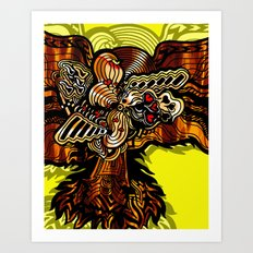 The Golden Phoenix Art Print
