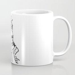Frida Kahlo Single Line Portrait Coffee Mug