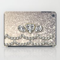 bisexual iPad Cases featuring Diamonds and sparkles I by Better HOME