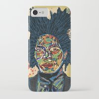 basquiat iPhone & iPod Cases featuring BASQUIAT by Blaz Rojs