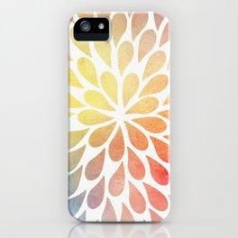 Petal Burst #26 iPhone Case