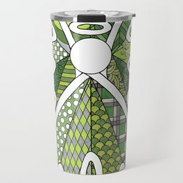 Lace Angel Travel Mug