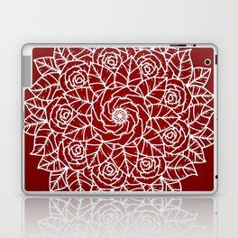 RED MANDALA Laptop & iPad Skin