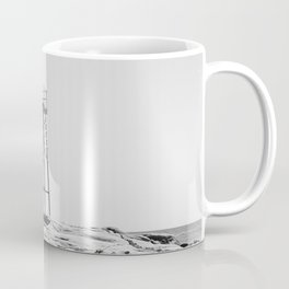 Redhead Beach Shark Tower Coffee Mug