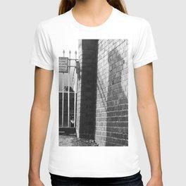 Railway Cat Black & White T-shirt