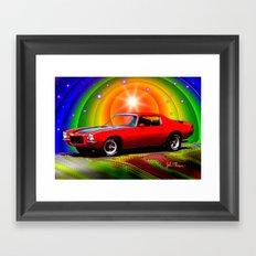 1970 Camaro Framed Art Print