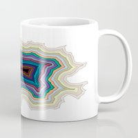 abyss Mugs featuring The Abyss by Rachel Caldwell