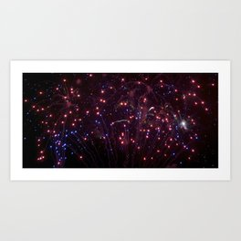 Glitter in the Sky Art Print