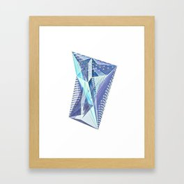 Geminate - Twilight Framed Art Print