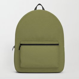 Green Olive | Pantone Fashion Color | Fall : Winter 2019-2020 | London | Solid Color | Backpack