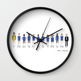 Chelsea - All-time squad Wall Clock