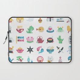 CUTE JAPANESE PATTERN Laptop Sleeve