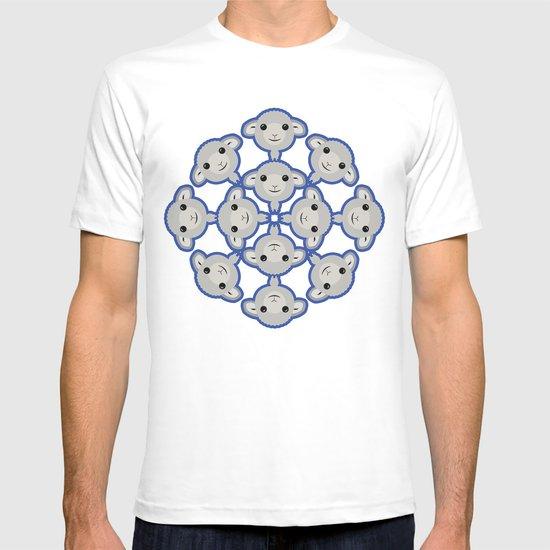 Sheep Circle - 3 T-shirt
