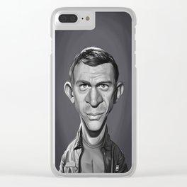 Steve McQueen Clear iPhone Case