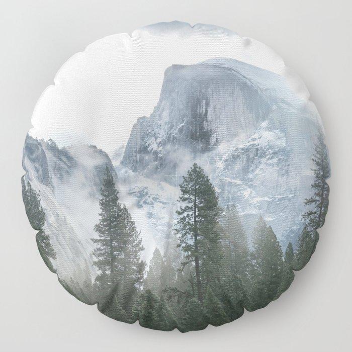 Majestic Mountain Floor Pillow