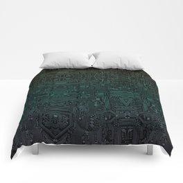 Circuitry Details Comforters
