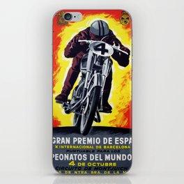 BARCELONA GRAN PREMIO ESPANA iPhone Skin
