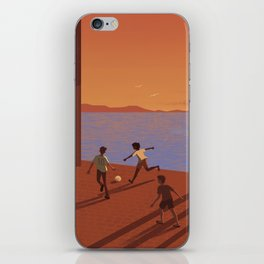 Dreaming the World Cup iPhone Skin
