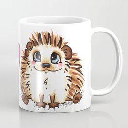 Peace, Love and Hedgehogs Coffee Mug